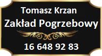 Tomasz Krzan Usługi Pogrzebowe tel. 16 648 92 83