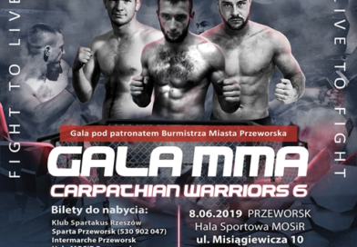 Gala MMA Carpathian Warriors 6 w Przeworsku