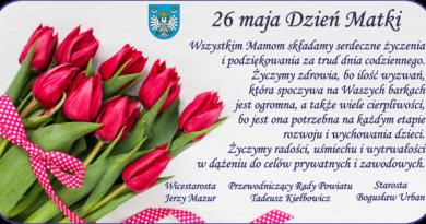 26 maja Dzień Matki