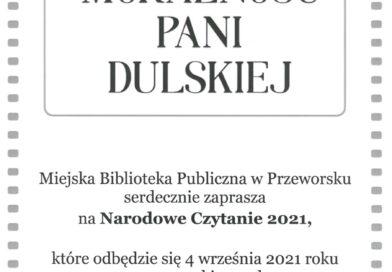 """Narodowe Czytanie 2021 – """"Moralność Pani Dulskiej"""""""