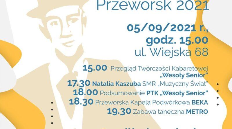 """Przegląd Twórczości Kabaretowej """"Wesoły Senior"""""""